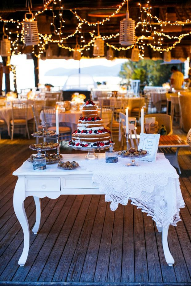 Dessert table- Beach wedding