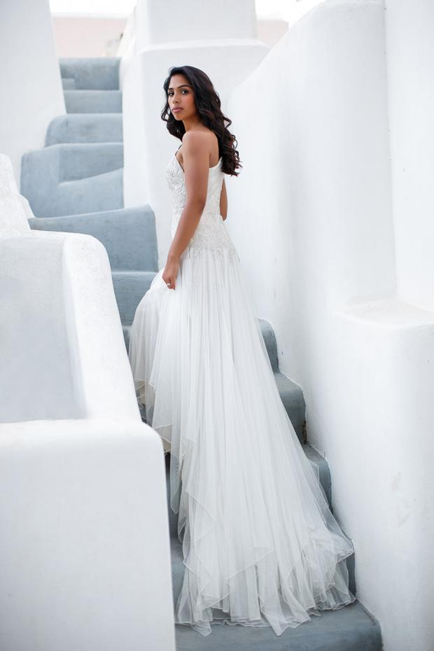 Boho wedding Dress-Galina Signature
