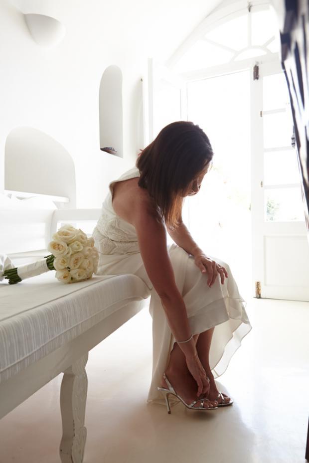 Santorini wedding-wedding preparation