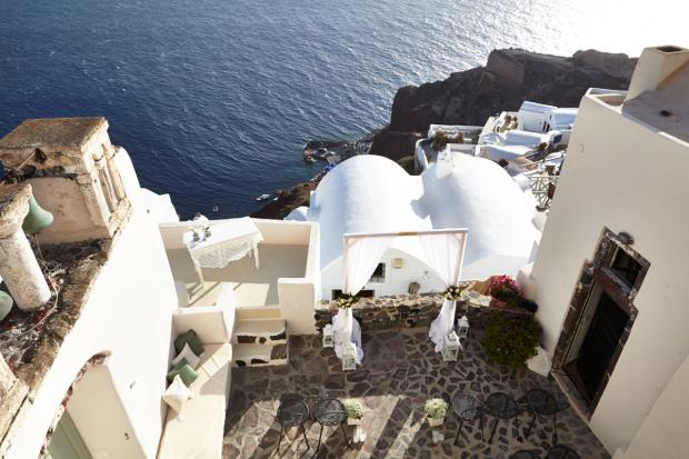 Santorini wedding-wedding ceremony