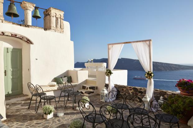 Santorini wedding-wedding ceremony