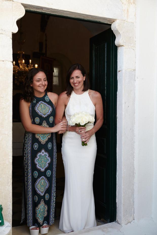 Santorini wedding-wedding moments