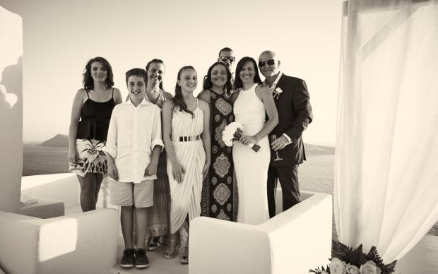 Santorini wedding-wedding moments