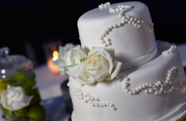 wedding cake-Santorini wedding
