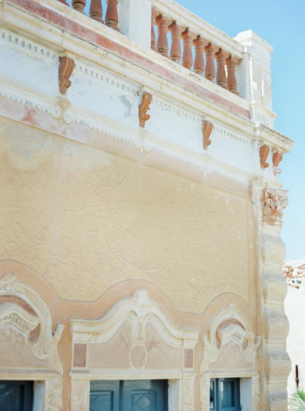Old mansion wedding in Greece