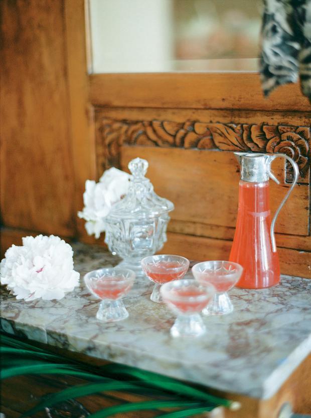 wedding welcome drink