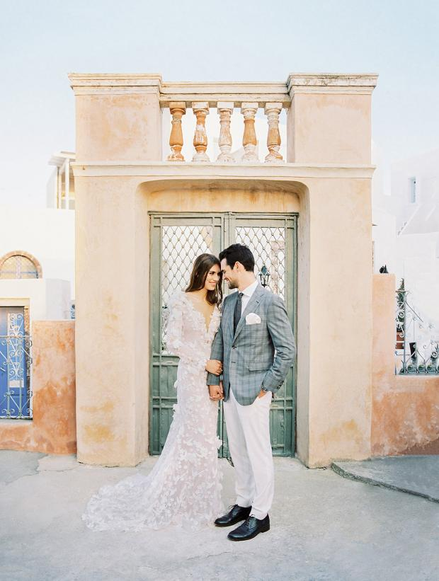 Belle Epoque wedding at an old mansion in Greece