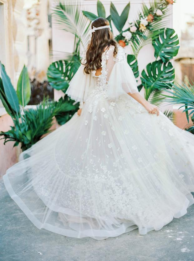 Madebride bohemian wedding dress