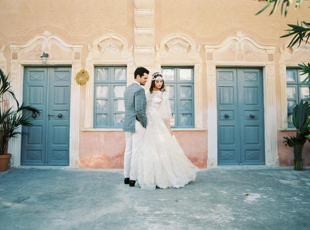 Belle Epoque Inspired Wedding at an old mansion in Greece