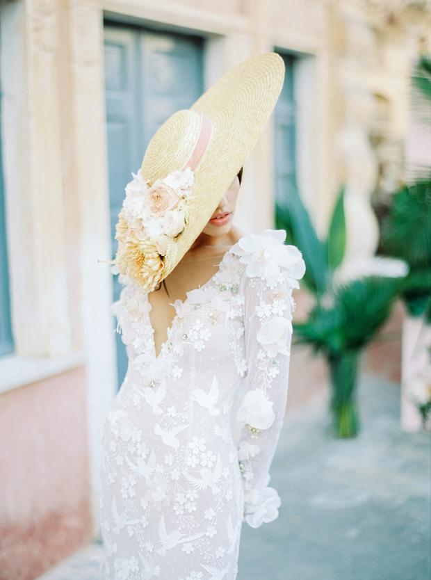 Belle Epoque garden  wedding at an old mansion in Greece - pamela tocado