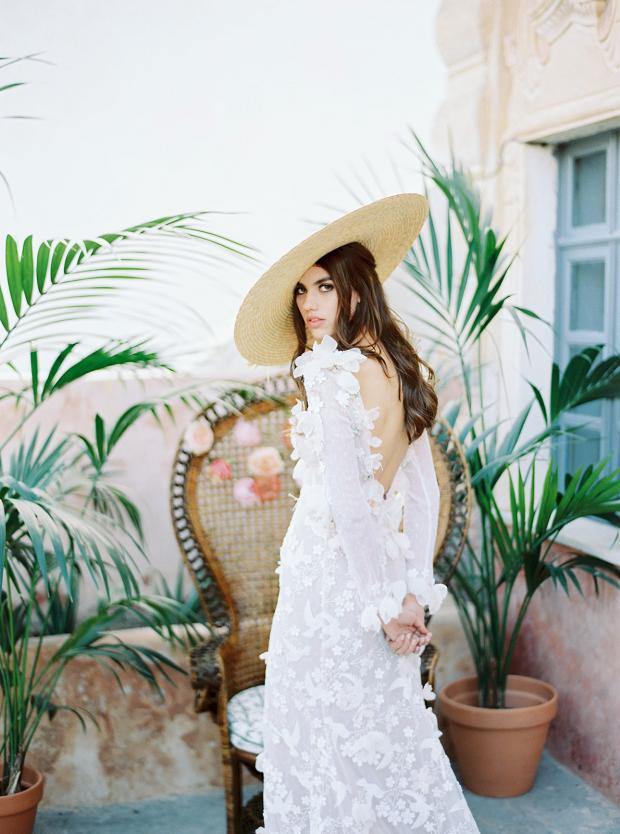 Belle Epoque garden  wedding at an old mansion in Greece - pamela tocado