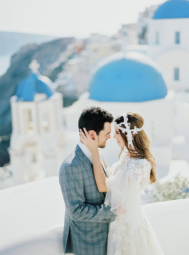 Belle Epoque wedding in Greece