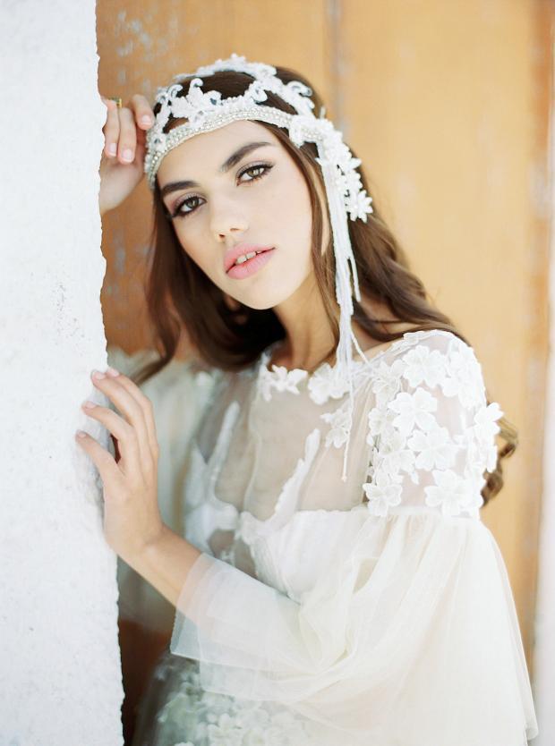 Bridal hair and make up - boho bride
