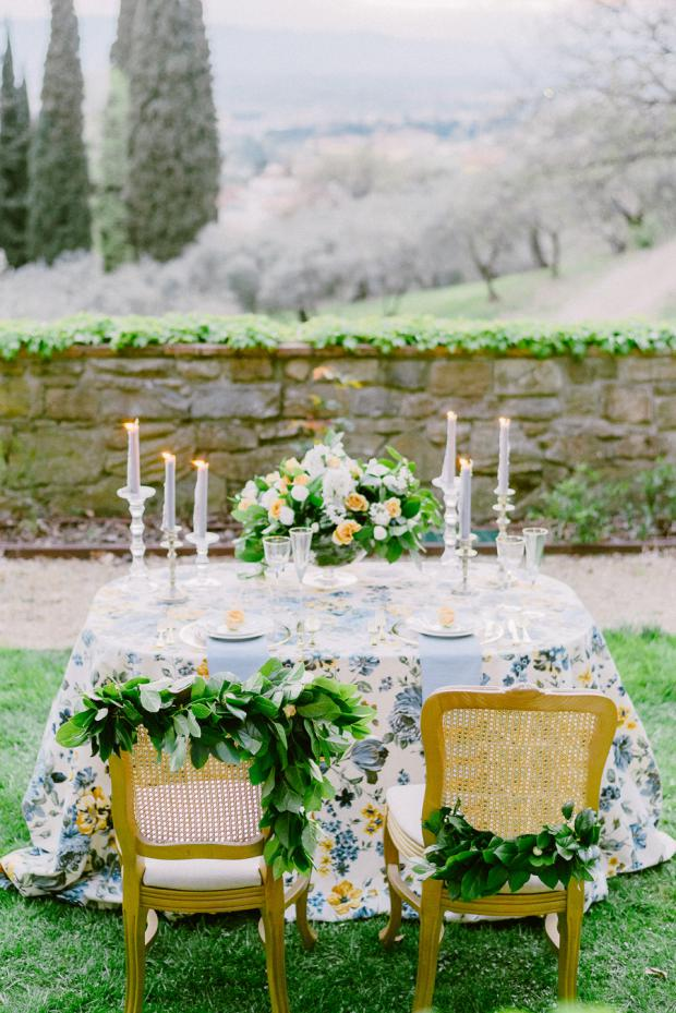Wedding chairs decoration- Tuscany wedding