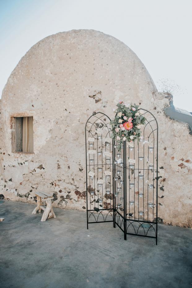 Seating plan -wedding in Greece