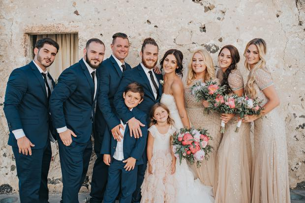 Wedding family- bridal party