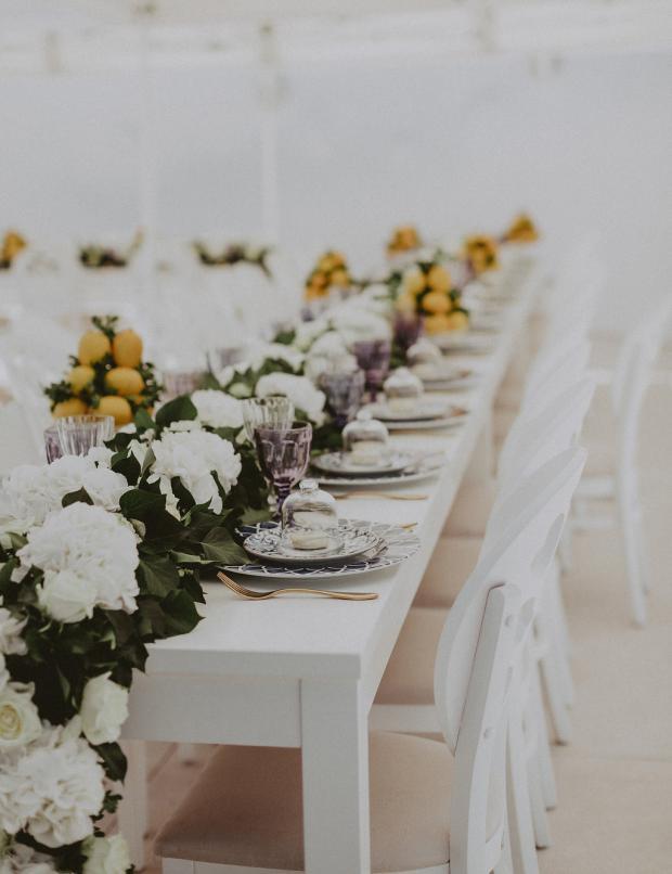 Lemon wedding in Greece and Italy