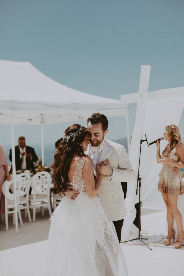 Luxury jewish wedding in Greece & Italy-First dance