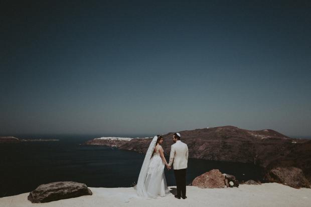 Luxury jewish wedding in Greece