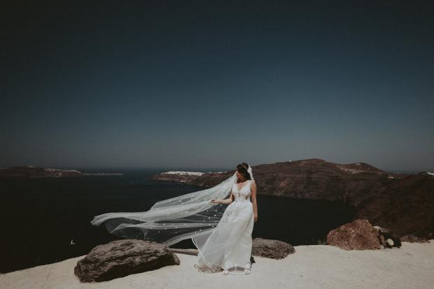 Luxury jewish wedding in Greece
