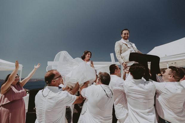 Luxury jewish wedding in Greece & Italy