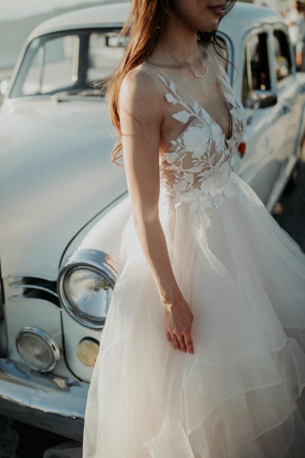 Wedding dress- Santorini Bride