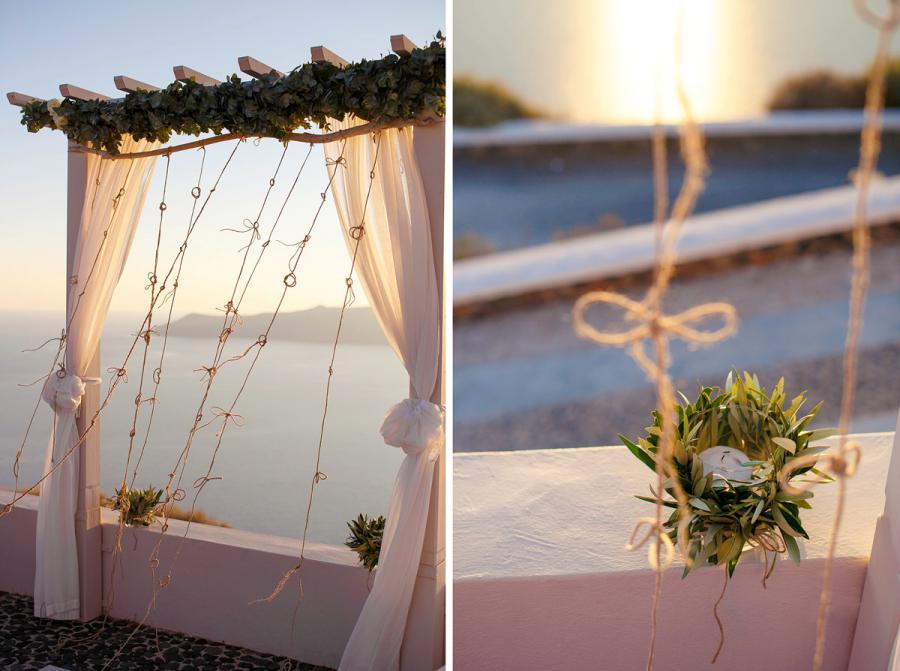 Grecian Wedding in Santorini-Tie the Knot in Santorini