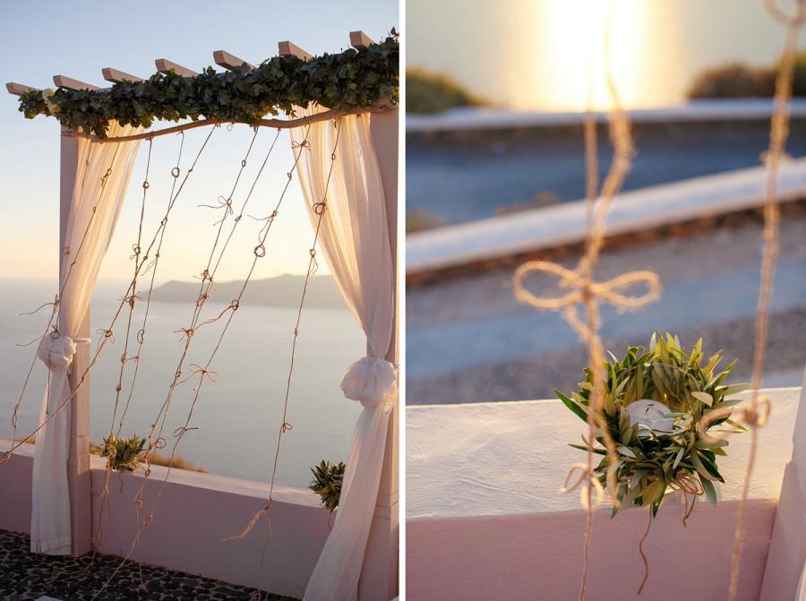 Grecian Wedding in Santorini-Tie the Knot in Santorini