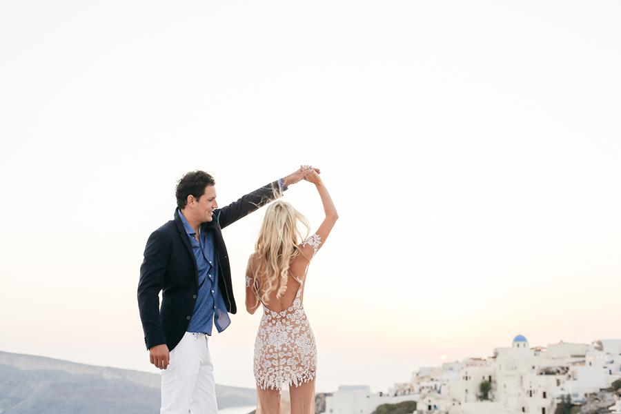 Wedding in Santorini- Tie the knot in Santorini