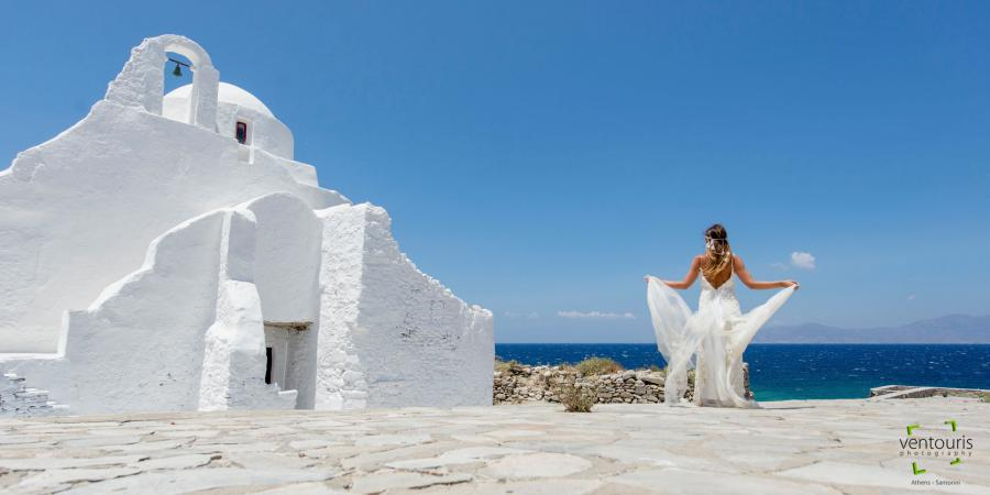 Greek island Wedding- Ventouris Photography